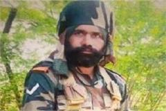 martyred indian army soldier in china border