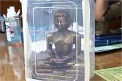 7 arrested with 700 year old ashtadhatu idol of  lord parshvanath  worth crores