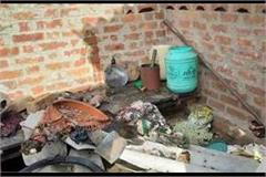 major accident due to gas cylinder burst while cooking in up