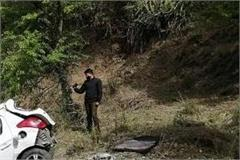 car fell into a ditch one killed one injured