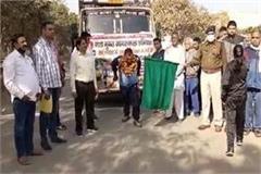 wrestler bijendra singh demonstrated power by pulling a truck to get rid