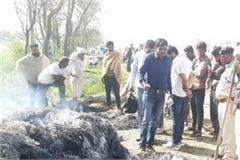 dead body found in parali along the canal fearing murder