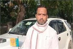 mla anand shukla said excise officer responsible for the death of seven people