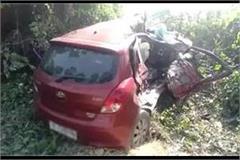 horrific road accident in bulandshahr child and three women died