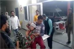after hathras in aligarh family beaten up for opposing molestation