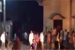 sugarcane minister murdabad slogans in shamli video viral