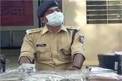 lakhs of rupees seized on spotting of usury