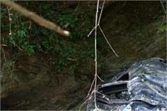 a car collapsed in banjar s shosha one woman and one man died