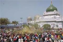 deva sharif holi of barabanki has its own colors