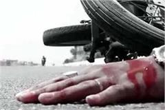 death of youth in collision of 2 bikes