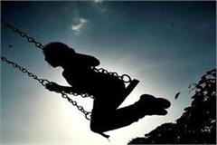 10 year old girl died during swinging in indore