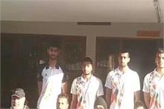 haryana players won gold medal in national volleyball competition