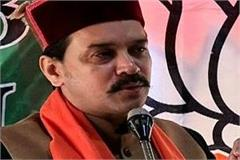 no other organization like organized organization like bjp is contesting anurag
