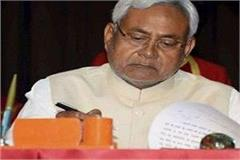 cabinet meeting held under the chairmanship of cm nitish