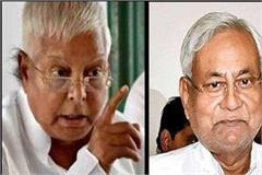 lalu attacks nitish over rjd workers for lathi charge
