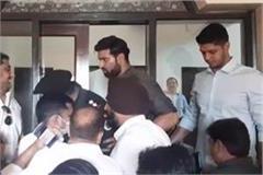 women ias molested in deputy cm s program accused arrested