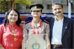 aditi became lieutenant in indian army