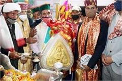 badadev kamarunag arrives in mandi for international shivaratri festival