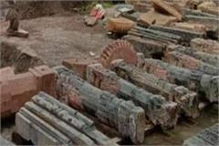 ram temple construction these special things including charan paduka