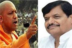 cm yogi adityanath is a saint but his language is  thok do  shivpal