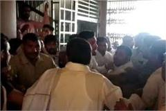 congress workers fought among themselves in charkhi dadri