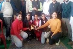 kangra won overall trophy in fencing