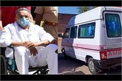 mukhtar s name came up in ambulance case investigation one accused arrested