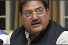 vij accepts lack of oxygen and chief minister is saying no deficiency chautala