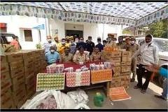 illegal liquor recovered in rae bareli seven arrested