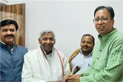 vip s ramchandra sahni joins bjp