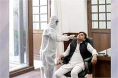 corona infected akhilesh said  the queues of dead bodies