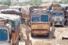 11 wheat trucks from other states stopped at shambhu border