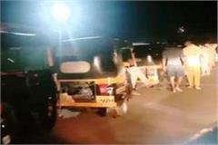 hundreds of laborers start migrating from maharashtra