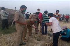 hardoi 3 year old boy falls into a borewell while playing