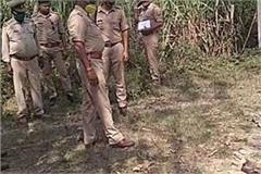 criminal unrest in up ruthless killing of an with a sharp weapon