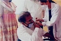officer of punjab school education department also got corona vaccine