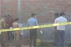lucknow woman s body found naked in empty plot
