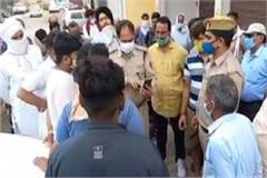 looting of lakhs by masked miscreants asp visits and directs revelations