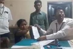 jaunpur two and a half feet anita s nomination was the center of discussion