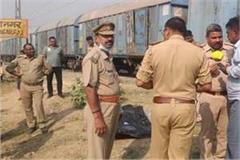 married woman strangled to death on rail line in barabanki fear of rape