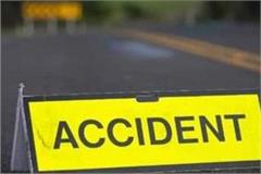 three including army personnel killed in a collision of two vehicles
