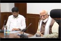 chief minister chairs high power land purchase committee meeting