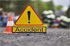 one killed in two vehicle collision in vaishali