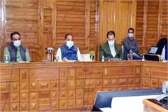 cm jairma thakur in covid 19 review meeting
