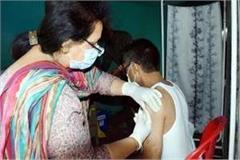 69 thousand people got first dose of corona vaccine in kullu