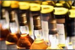 police seized 7309 liters of foreign liquor from truck
