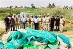 police and excise department raid in sutlej darya