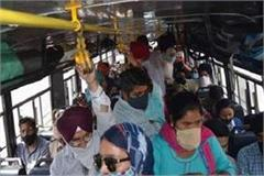 the uncontrolled situation of buses in punjab uncontrolled