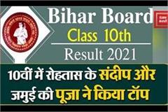 bseb released matriculation result