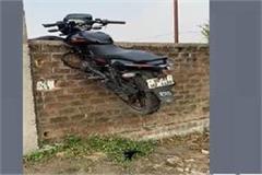 unique photo of bike theft in indore
